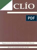 Revista Clío, No. 180, julio-diciembre 2010
