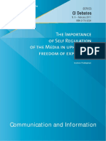 The Importance of Self Regulation of Media in Upholding Freedom of Expression.pdf