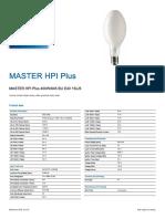 Master Hpi Plus 400w-Philips