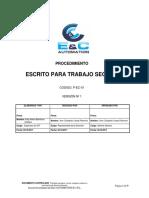P-EC-01 Procedimiento Escrito para Trabajo.pdf
