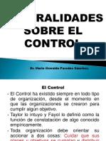 SESION N° 01 - SESION INTRODUCTORIA - GENERALIDADES SOBRE EL CONTROL