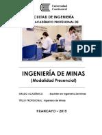 Ingenieria de Minas 2015