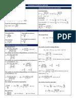 Formulario Estadística Aplicada