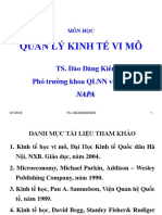 Slide Bai Giang Kinh Te Hoc Vi Mo