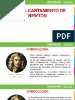 Ley Del Calentamiento de Newton