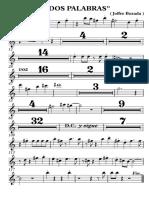 2 Palabras 2trompeta - Trompeta en Sib