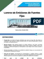 Control de Emisiones de Fuentes Fijas - Referencias de IRAM 29230-1