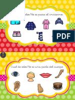 Coleccion de Fichas Para La Comprension de Frases Negativas 6 10