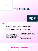 Study material(ppt)-Disasters; manmade.pptx