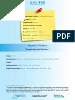 Secuencia Didáctica Primer Ciclo CBA.