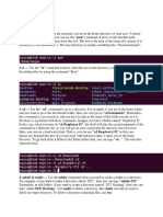 Linux Basics 1 Notes