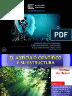 Estructura del Articulo Científico