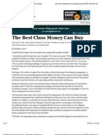 The Best Class Money Can Buy