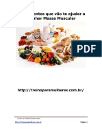Melhores Alimentos Para Ganhar Massa Muscular 2.0