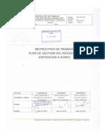 Plan de Gestion Del Riesgo de Exposicion Al Ruido