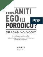 Dragan Vojdovic - Hraniti Ego Ili Porodicu