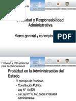 Probidad y Responsabilidad Administrativa