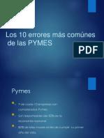 Errores de Pymes