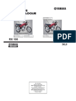 Yamaha Rx100 Part Catalog