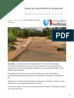 04-09-2018 - Lluvias de esta semana se concentrarán en la sierra de Sonora - Uniradionoticias
