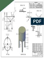 Contoh gambar kerja pressure vessel