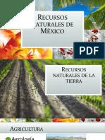 Recursos Naturales de México