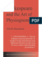 Shakepeare and the Art of Physiognomy