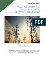 Practica Curso NUEVA INDUSTRIA ELECTRICA EN MEXICO