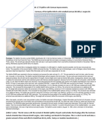 Translated and Edited Review by IPMS Germany of the Spitfire MkVb With Installed German DB