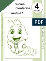 4to Grado - Bloque 1 - Ejercicios Complementarios