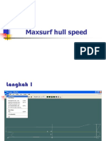 Modul Maxsurf Hull Speed