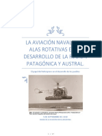La Aviación Naval y Las Alas Rotativas en El Desarrollo de La Región Patagónica y Austral