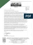 Ufcw Letter