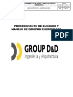 PROCEDIMIENTO DE BLOQUEO Y MANEJO DE EQUIPOS ENERGIZADOS.docx