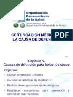 Certifica c i on de Causas