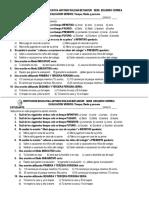 evaluación verbos 4