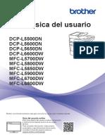 Manual Impresora Dcp-l5600dn