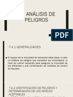 Analisis de Peligros