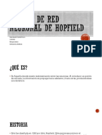 Modelo de Red Neuronal de Hopfield