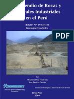 Compendio de Rocas y Minerales Industriales Del Perú%3b 2009