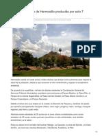 04-09-2018-Galería Oxígeno de Hermosillo producido por solo 7 zonas verdes - Elsoldehermosillo