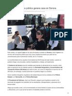 04-09-2018-Paro de transporte público genera caos en Sonora - ElUniversal