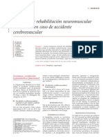 Tecnicas de Rehabilitacion Neuromuscular en Adultos en Caso de Accidente Cerebrovascular