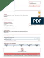 Ficha técnica de cable tierra