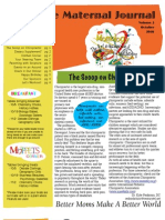 October Newsletter MOPS-Owatonna