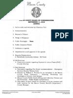 Sept 2018 Commissioner Agenda Packet
