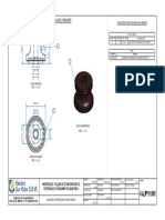 I-LP1101 Aislador de Porcelana Tipo Carrete