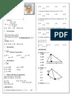 Examen 2017 - II Bimestre - 5º Sec - Simulacro