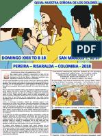 HOJITA EVANGELIO  DOMINGO XXIII TO  B 18 COLOR.pptx