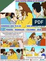 HOJITA EVANGELIO  DOMINGO XXIII TO B 18 SERIE.pptx